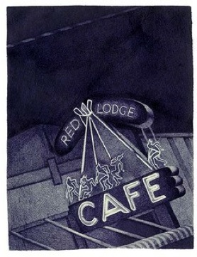 Red Lodge Cafe  old